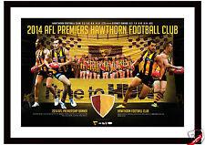 Hawthorn 2014 AFL Premiers Grand Final Banner Print Licensed Product