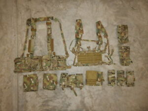 Eagle Industries * Multipurpose Chest Rig * Mag Pouches * Multicam LOT SOCOM NSW