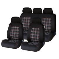 Lambeth Luxury Car Seat Covers Full Set For VW GOLF MK5 (04-08)