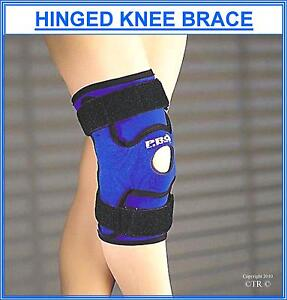 Pinto Hinged Knee Brace Support Neoprene Sports Protective Gear