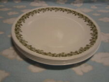 CORELLE/CORNING/CRAZY DASY LUNCHEON PLATES/SET OF FOUR/ALL TO GO ONE PRICE !!