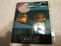 Universal Studios Exclusive  Monsters Pin Badge Set Frankenstein/The Mummy LE