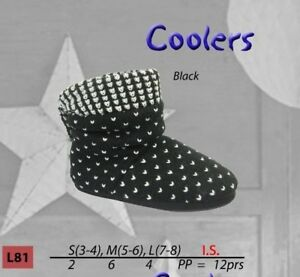 Coolers BOOTIE Slippers   BLACK