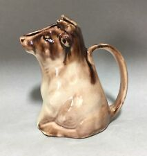 Early Morton Pottery Brown Cow Creamer / Pitcher