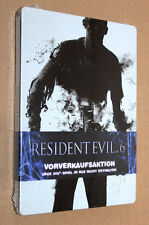 "Resident EVIL 6 Steelbook (g1 XBOX 360) NEW & SEALED ""No Game/non gioco"""