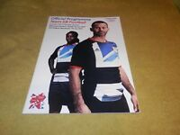 Official Programme - Team GB Football at London 2012 Olympic Games