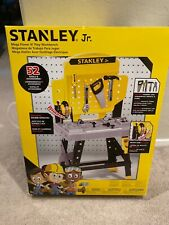 Stanley Jr. Mega Power N Play Workbench With 52 Tools & Accessories NEW
