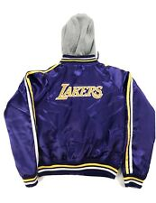 Lakers Jacket NBA 4 Her Womens Purple G3 By Carl Banks Size Medium