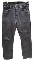 Vintage Levis 501 Denim Womens Jeans Black Size W32