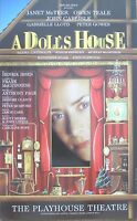 A Doll's House, Playhouse Theatre. 1996, 12.5 x 20 Inch Original Poster