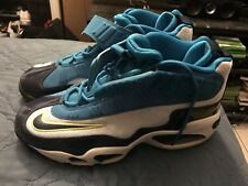 9240d2c65a87 Nike Air Griffey Max 1 Pure Platinum-Midnight Navy-Neo Turquoise Mens size  9.5