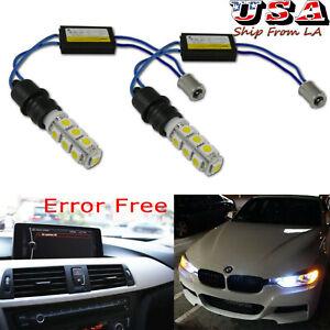 Error Free Decoder BA9 64132 Parking Light Bulb For BMW 320i 325i 328d 328i 335i