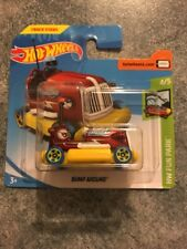 2018 HOT WHEELS BUMP AROUND TREASURE HUNT HW FUN PARK  4/5 Short Card