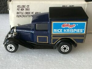 Code 2 Matchbox MB38 Ford Model A Van. KELLOGG'S RICE KRISPIES THAILAND 1991
