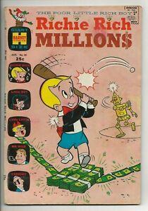 Richie Rich Millions #30 (Harvey Comics, 1968) Giant Size Little Dot Lotta Rare
