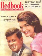 MAGAZINE COVER REDBOOK NOVEMBER 1957 YOUNG ADULTS KENNEDY GLAMOUR POSTER BB8044