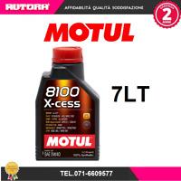 102784 7lt Olio 8100 X Cess 5W40 100% sintetico (MARCA-MOTUL)