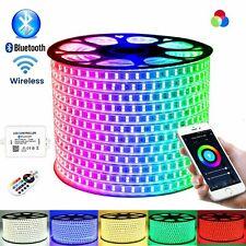 ATOM LED RGB LED Strip Wireless 220V Bluetooth App 60-120 LED/m RGB LED Strip