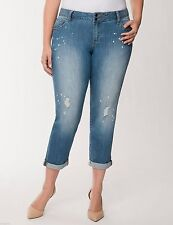 Mid-Rise Plus Size Distressed Jeans Torrid for Women | eBay