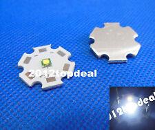 5pcs CREE XPE XP-E LED R3 1W 3W led White 5000K with 20mm star PCB base