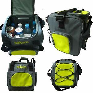 Sakura 12v DC Car Plug 14L Portable Camping Travel Fridge Cooler Cool Box Bag