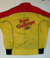 VINTAGE PEPSI CHALLENGER NYLON JACKET! PEPSI RACING TEAM CHEST LOGO!  NASCAR! L