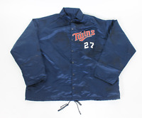 1980s Minnesota Twins game used worn warmup jacket! RARE! Guaranteed Authentic!