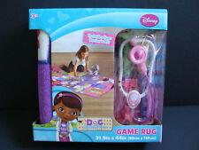 "NEW Doc McStuffins Game Rug + Doctor's Kit Play Bag 31.5"" x 44"" Disney Carpet"