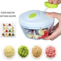 Hand Held Fruit Food Chopper Vegetables Shredder Manual Peeler Grater Kitch Tool
