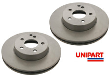 For Mercedes-Benz - C Class 2007-2015 W204 S204 C204 Front Brake Discs Unipart