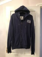 SOULCAL&CO NAVY BLUE TRACKSUIT TOP HOODIE JACKET SIZE MEDIUM