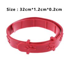 Soft Silicone Pet Cat Flea Collar Adjustable Pets Collars Neck Strap Protect Pet