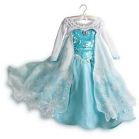 LE~Limited Edition~ELSA~COSTUME Dress + Rhinestone TIARA~Frozen~NWT~Disney Store