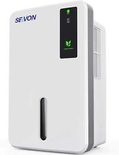 Seavon 1500ml Dehumidifiers for Home, 1200-2500 Cubic Feet (250 sq ft), Portable