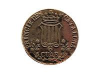 Moneda 6 Cuartos, Isabel II, 1846