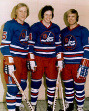 Anders Hedberg, Ulf Nilsson, Bobby Hull Winnipeg Jets 8x10 Photo