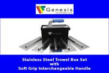 Genesis Soft Grip Stainless Steel Trowel Box Set