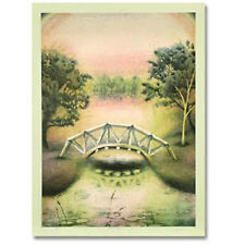 """""""FOOTBRIDGE"""" LE  Gerald Fried Hand S&N Lithograph NEW"""