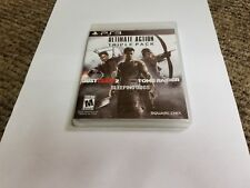 Ultimate Action Triple Pack (Sony PlayStation 3, 2015) tomb raider jusy couse
