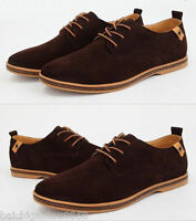New! Suede European style leather Shoes Men's oxfords Casual Multi Size Fashion