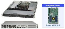 SuperMicro SYS-5017R-WRF 1U Server with X9SRW-F Motherboard
