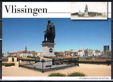 Nederland Voorgefrankeerde ansichtkaart Vlissingen Standbeeld De Ruyter-postcard
