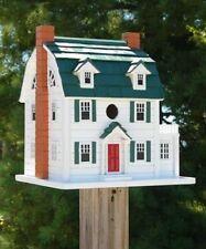 New listing Home Bazaar Dutch Colonial House Outdoor Backyard Garden Decor, Songbird Lovers!