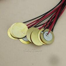 10x Piezo electric Disc Transducer Pickups Acoustic Guitar Mandolin Ukulele