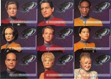 Complete CHASE SET Star Trek Voyager Series 2 - Walmart exclusive (9 cards)