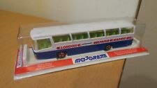 MAJORETTE NO 373 AUTOCAR BUS LONDON PARIS MADRID 1/87 IN ORIGINAL UNOPENED BOX