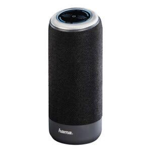Hama Soundcup-S Portable 10 Watt AUX Rechargeable Bluetooth Mobile Speaker Black