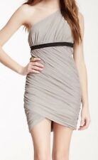 New with tag $358 BCBG Max Azria Ruched one shoulder B1485 Dress Sz L