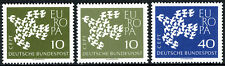 Germany 844-845, two papers, Mnh. Europa Cept. 19 Doves Flying as one, 1961