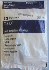 New Covidien TED Anti-Embolism Stockings Knee Length Large Regular Size E- 7203
